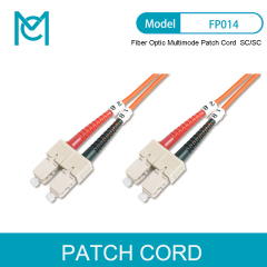 MC High-end Quality For Your Network Professional Fiber Optic Multimode Patch Cord SC / SC