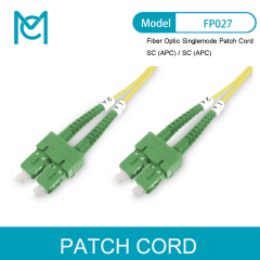 MC Professional Fiber Optic Singlemode Patch Cord SC (APC) / SC (APC)