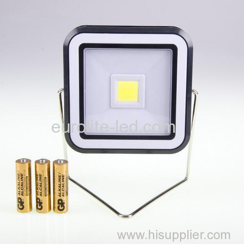 euroliteLed 3W LED COB Rectangle Camping Lights Battery Powered 2 Brightness Modes Outdoor Lighting Barbecue Lamps