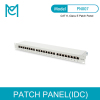 MC CAT 6 Class E Patch Panel Shielded 24-port RJ45 8P8C LSA 1U Rack Mount