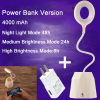 euroliteLED 2.5W Beige Dimmable Multi-use Desk Lamp Rechargeable 4000mAh 3 Gear Touch Control 4000K Eye-Caring Lamp