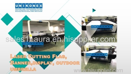 Laser marking machine for laser-cut ventilation holes