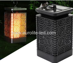 Led Solar powered The Simulation Of Flame Holiday Outdoor Light