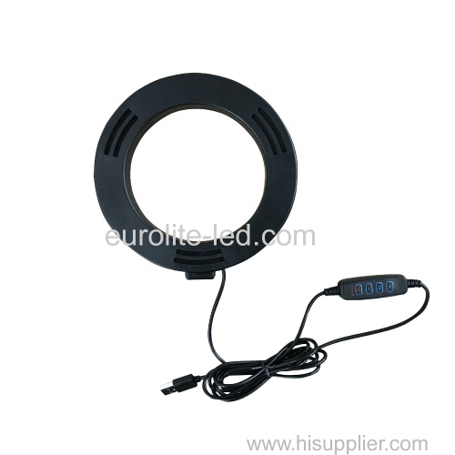 euroliteLED 6inch Led Ring Light Photography Ring Lamp for Make up and Live Stream