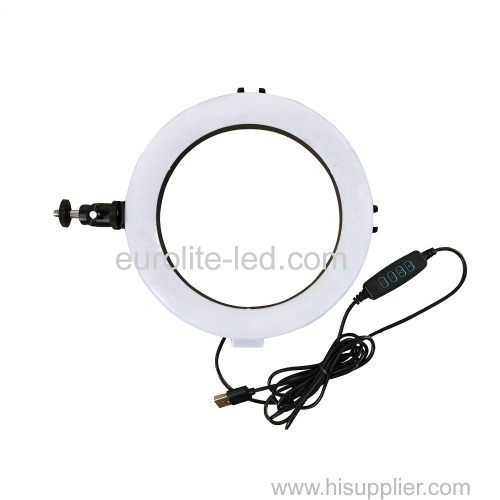 euroliteLED 8inch Led Ring Light Photography Ring Lamp for Make up and Live Stream
