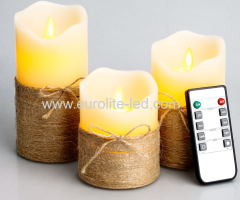 Led Candle Home Improvement The Simulation Of Flame Light