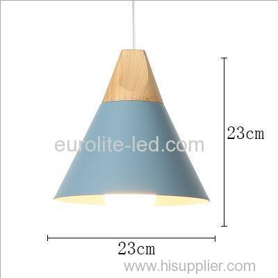 euroliteLED Single-Head LED Chandelier Nordic Modern Simplicity Pendant Lamp Hanging Wire 120cm Freely Adjustable