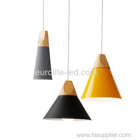 euroliteLED 9W Yellow Single-Head LED Chandelier Nordic Modern Pendant Lamp Hanging Wire 120cm Freely Adjustable