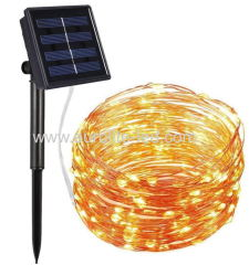 Led Solar Powered String Decoration Party Holiday String Night Light