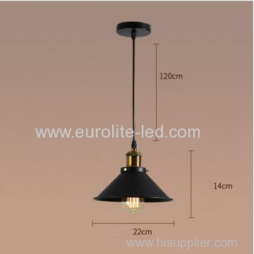 euroliteLED 40W Restaurant Hanging Pendant Lamp Chandeliers Kitchen Loft Industrial Vintage Pendant Lighting