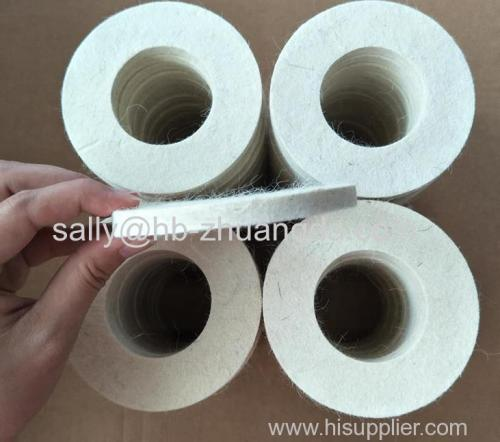 Industrial felt wool felt washer round oil-absorbing wool gasket mechanical seal dust filter felt o-ring gasket