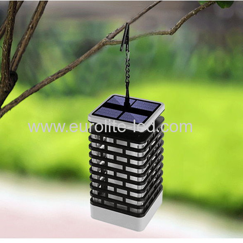 Led Solar Powered Waterproof Environment Retro Two Pack Landscape Decoration Night Light