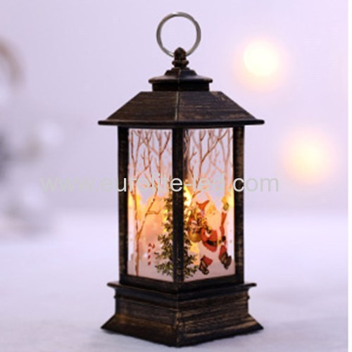 Led Fire - like hand - decorated shop Windows Christmas small oil light