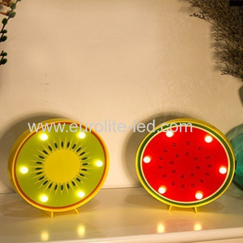 Led Acrylic Fruit Holiday Party Table Decoration Night Light
