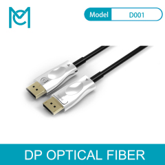 MC DisplayPort Fiber Optic Cable DP1.4 Cable Ultra High Speed 32.4 Gbps 4K@60Hz 4K@60Hz Fiber Cable