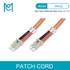 MC Fiber Optic Multimode Patch Cord LC / LC
