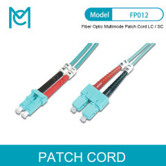 MC Professional High-end Quality Fiber Optic Multimode Patch Cord OM 3 LC / SC
