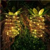 Led Pineapple Solar Power 2 Packages Holiday Party Kids Decoration Light
