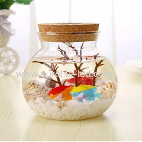 Led Submarine Micro-Landscape Ornament DIY Eco-Bottle Colours Light