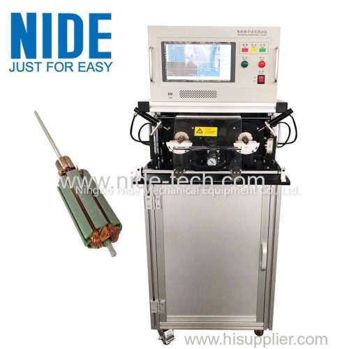 Highly automatic Universal motor and DC motor armature testing panel machine for sale