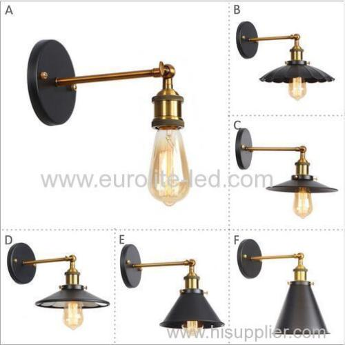 euroliteLED Industrial Vintage Wall Lamp Fixture Simplicity Arm Swing Wall Lights(Model 3)