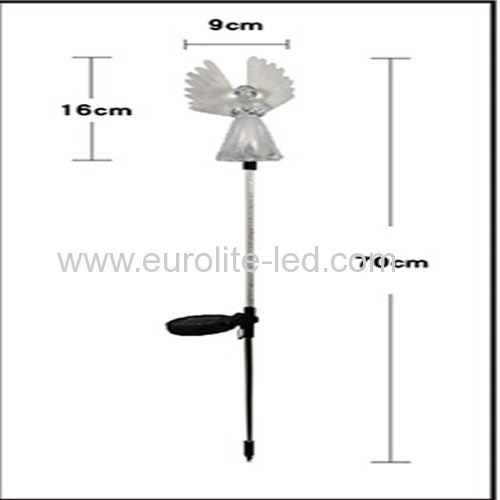 Led Solar Powered Angel Outdoor Plug Street Garden Decoration Light