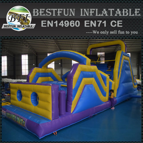 Kids obstacle course equipment inflatable sport games