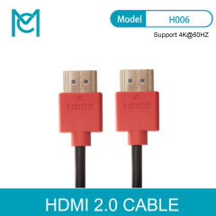MC Gold Plated Plug Male-Male HDMI Cable 2.0 Version 4K*2K@60HZ 3D For PS3HDTV