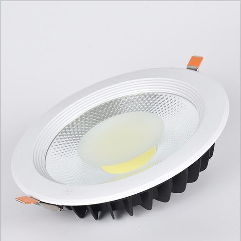euroliteLED 30W White COB LED Downlight 3000K-6500K IP20