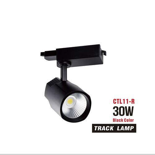 euroliteLED 30W COB LED Track Light 3000K-6500K IP20 White Black Optional