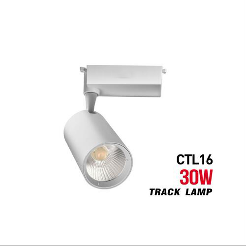 euroliteLED 30W 3000LM White COB LED Track Light 3000K-6500K IP20