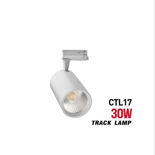 euroliteLED 30W 3000LM COB LED Track Light 3000K-6500K IP20 White