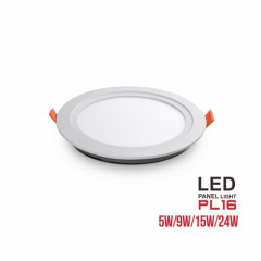 euroliteLED 5W 9W 15W 24W SMD LED Panel Light 3000K-6500K IP20