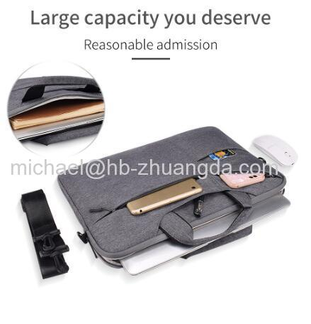 "Waterproof Women Men Laptop Bag 13.3 15.4"" Case for Macbook Air 13 15 14 15.6 Bag for Macbook Pro 15 touch bar Sl"
