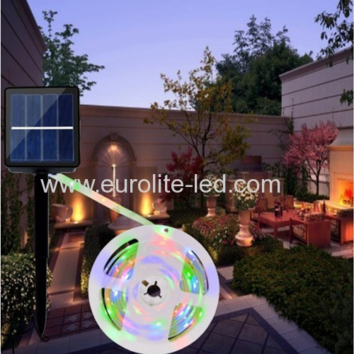 Led Solar Powered RGB Waterproof Decoration Anit-UV Dropping Glue Soft Night Light