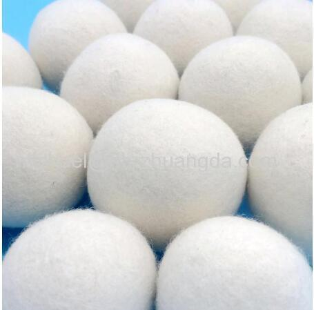 1-8cm White Felt Ball Wool Beads For DIY Toys Making Craft Felt Poms Wool Roving Reduce the electrostatic Of Clothing Dr