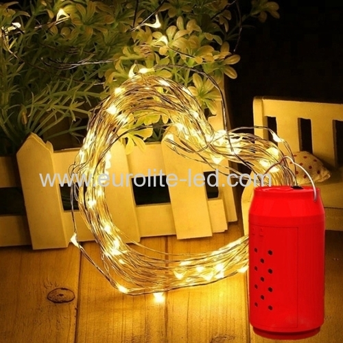 Led Outdoor Waterproof Salt Water Power Generation String Cylinder Box 10 M Spherical 100leds Decoration Night Light