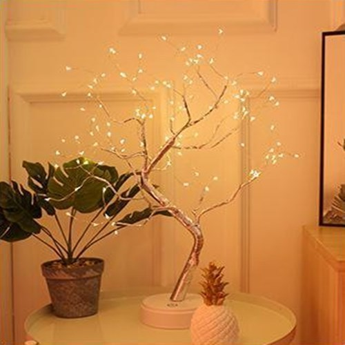 Led Glowworm Tree Battery USB Touch Switch Party Holiday Wedding Decoration Night Light