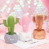 Led Cactus Button Battery Room Decoration Party Holiday Ornament Night Light