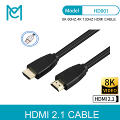 MC HDMI 2.1V 8K 60HZ 4K 120HZ 48Gbps Plastic Type HDMI Cable