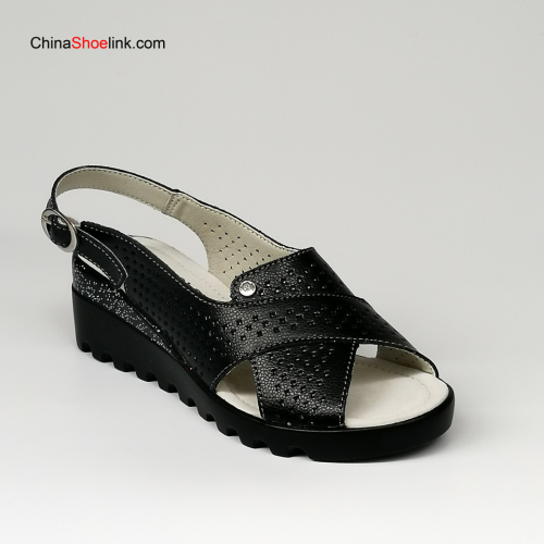 Popular Lady Leather Handmade Sandals