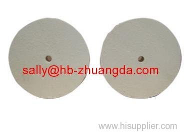 Wool Felt Wheel - Square Edge and Knife Edge Type Polishing Wheel