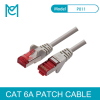 MC CAT 6A Ethernet Cable RJ45 S/FTP Patch Cord Lan Cable for Computer Router CAT6A Connector Internet Network Computer