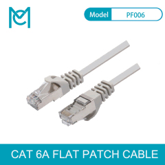 MC Speed CAT 6A Flat 8pin full copper Ethernet Network Cable RJ45 Patch LAN Cord 1-20m for PC Laptop Router