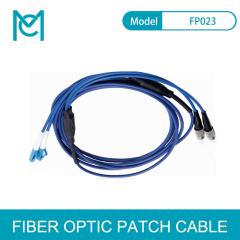 MC Fiber Optic Multimode Armored Patch Cord FC / LC