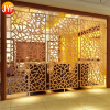 Home Decor Stainless Steel Decorative Metal Folding Screen Kitchen Room Divider