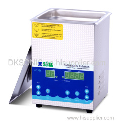 2L 120W Jewelry Dental Portable Mini Digital Ultrasonic Cleaner