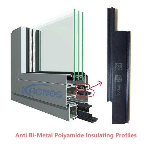 Anti Bi-Metal Solution 24mm Polyamide Insulating Strips for Aluminum Windows and Doors
