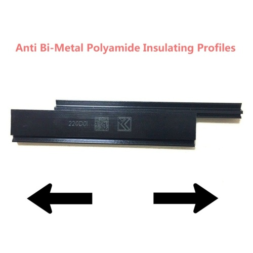 Extruded Anti Bi-Metallic Polyamide Profiles for Aluminum Windows and Doors
