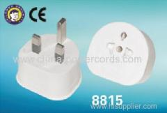UK tranvel adaptor with CE certification